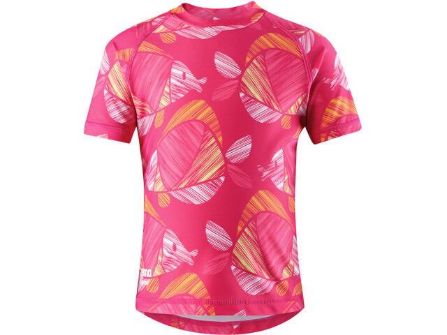 Reima Ionian Swim Shirts Flickor candy pink